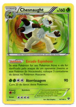 Chesnaught (14/146) foil