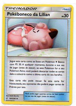 Pokéboneco da Lilian (197/236)