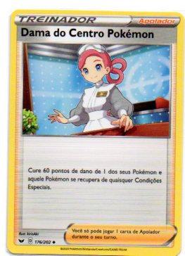 Dama do Centro Pokémon (176/202)