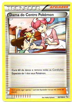Dama do Centro Pokémon (93/106)