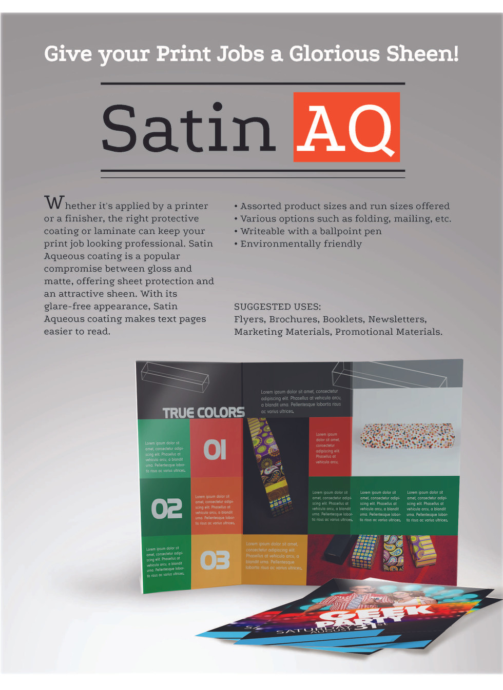 Satin AQ