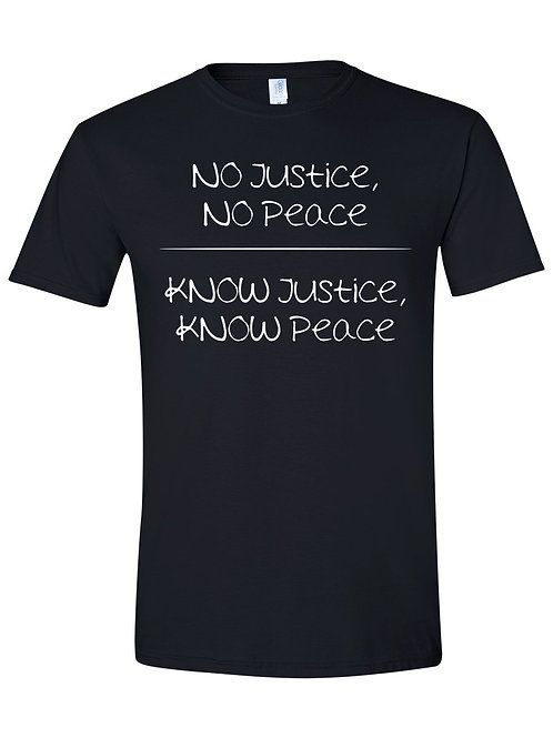Justice & Peace T-Shirt