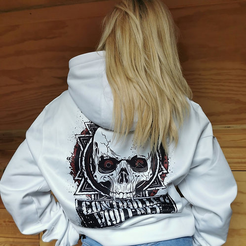 Ladies Controlled Violence Sublimation Hoodie