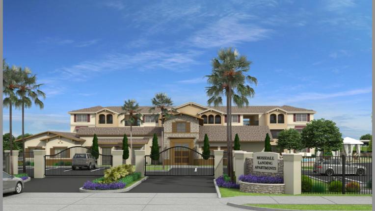 MOSSDALE LANDING APARTMENTS // 204 Garden Style, Multifamily Units - Lathrop, California