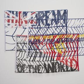 Raquel Ormella This dream, 2013 nylon 150 x 210 cm Collection Art Gallery of New South Wales, Sydney Rudy Komon Memorial Fund 2013 © the artist