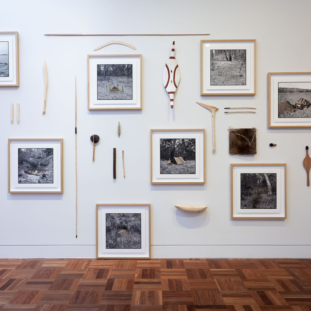 James Tylor, Kaurna language group (Tarntanya Adelaide, SA) Un-resettling series 2018 mixed media, dimensions variable Courtesy the artist, Vivien Anderson Gallery, Melbourne and GAG Projects, Adelaide Image Christian Capurro