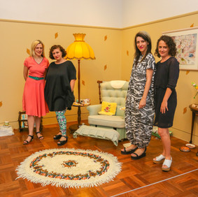 Hotham Street Ladies Lyndal Walker, Caroline Price, Sarah Parkes and Molly O'Shaughnessy