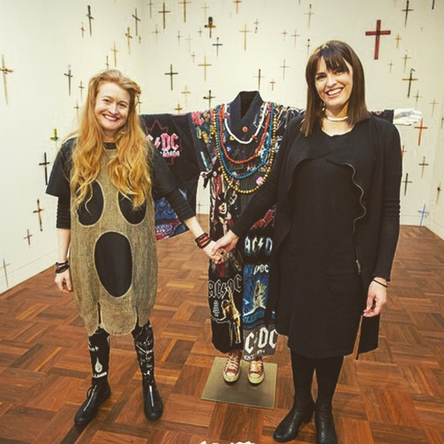 Nell and Nicole Durling, exhibition opening