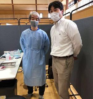 福島県相馬市 新型コロナウイルス集団ワクチン接種