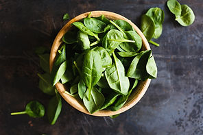 Spinach is called a superfood because of its folate content, vitamin A, C, magnesium , and iron.
