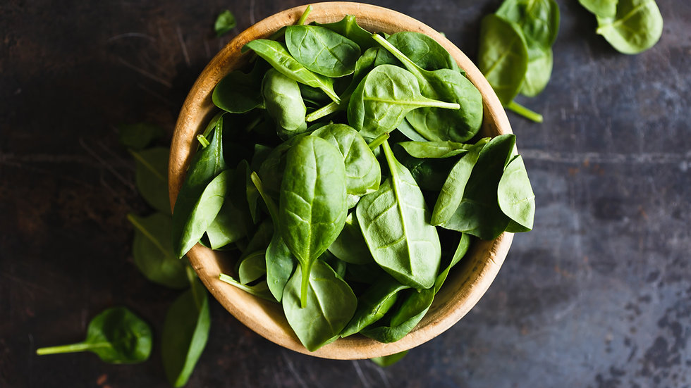 Spinach 8 cell punnet