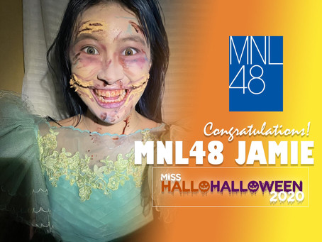 """Jamie Alberto rules first-ever """"MNL48 Miss HalloHalloween"""" pageant"""