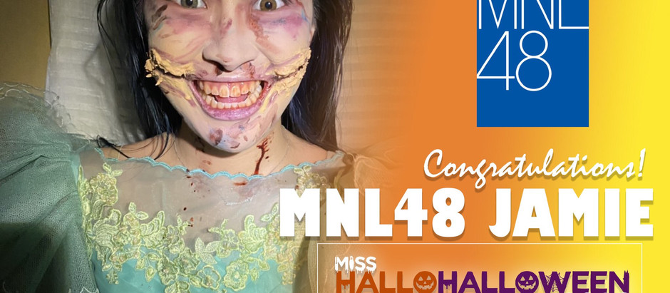 "Jamie Alberto rules first-ever ""MNL48 Miss HalloHalloween"" pageant"