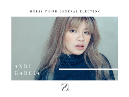 THIRD GENERAL ELECTION: Will Andi Garcia achieve her Sousenkyo quest?