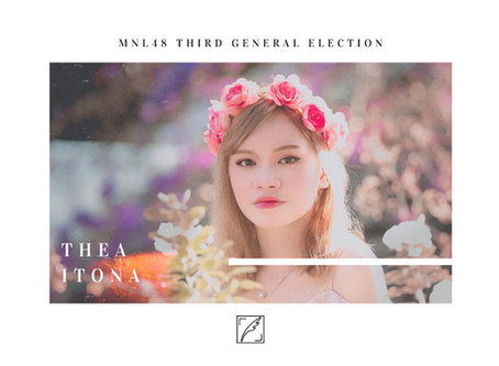 THIRD GENERAL ELECTION: Will Thea Itona's MNL48 story be more sweeter?