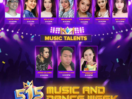 515 E-Party: MNL48's Gabb, Nile show own dancing prowess on the final day