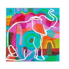 Blurred Line, elephant