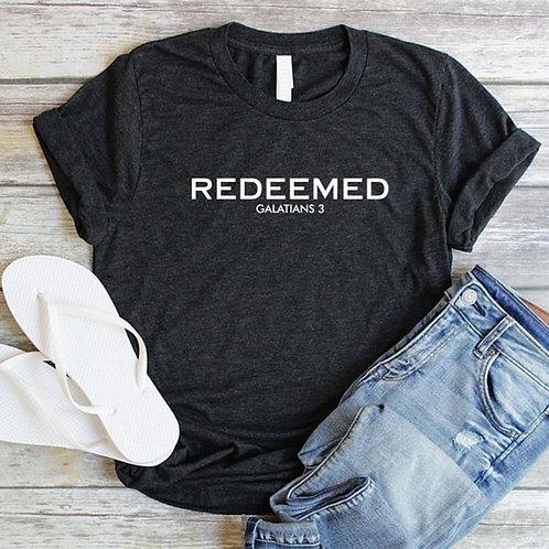 Redeemed Christian Women Shirts Jesus Forgiven Tshirt Bible Verse Grace T-Shirt