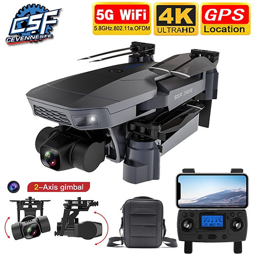 2021 NEW SG907 Pro Drone Quadcopter GPS 5G WIFI 4k HD Mechanical 2-Axis