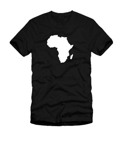 Africa Continent Outline T Shirt - All Sizes
