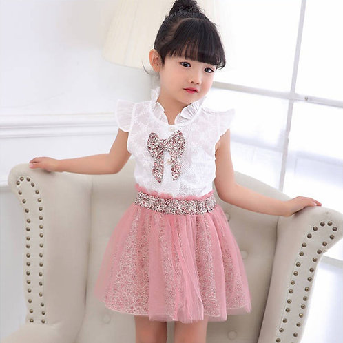 Baby Girl Clothing Set Vlinder Summer 2020 Skirt Clothes for 2 3 4 5 6 7 8 Year