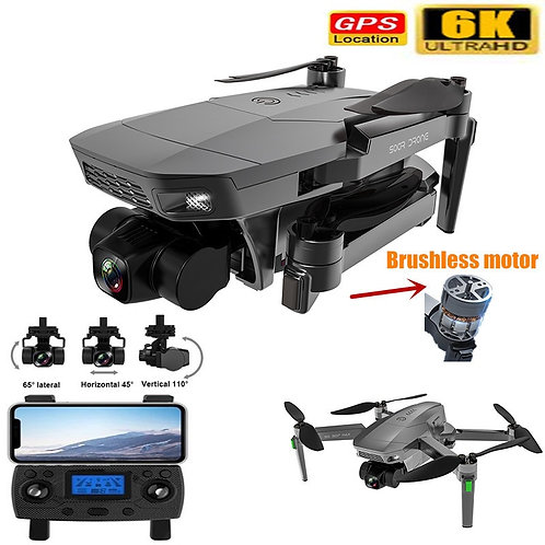 New SG907 MAX PRO Professional GPS Drone With 6K 3-Axis Gimbal Camera Brushless