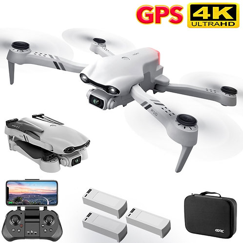 2021 New 4K HD Dual Camera With GPS 5G WIFI Wide Angle FPV Real-Time Transmis