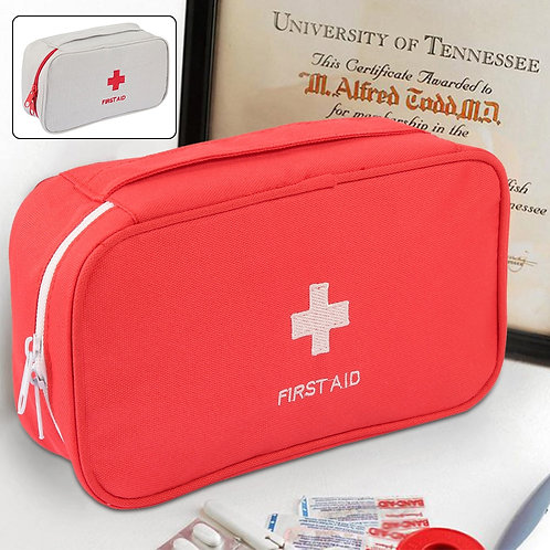 First Aid Kit Emergency Medical Box  Camping Survival Medical