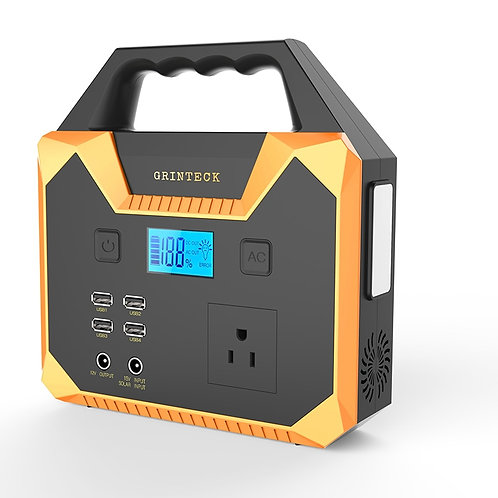Portable Power Station Power Supply Station USB DC AC Inverter 150WH High