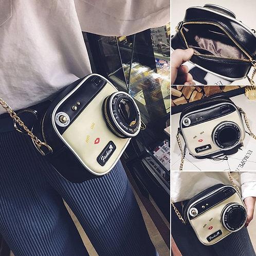 Camera Shape Shoulder Bag  Crossbody Handbag Messenger
