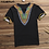 Thumbnail: INCERUN Fashion Men Dashiki T Shirt v Neck Print Tops African Ethnic Short Slee
