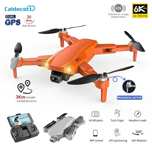 Caldecott S608 Pro GPS Drone 6K Dual Camera Professional Aerial Photography
