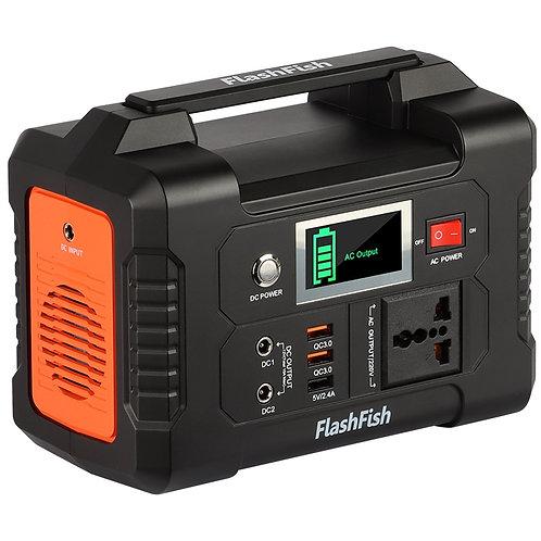 220V 200W Solar Generator Battery Charger FlashFish 40800mAh Portable Solar
