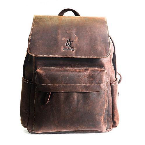 Bangalore Leather Backpack