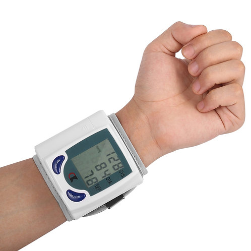 Health Care Automatic Digital Wrist Blood Pressure Monitor for Measuring Heart