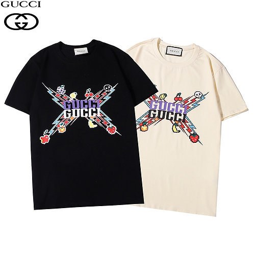 2021  Woman New Original Brand T Shirt Men Tops Summer Short Sleeve
