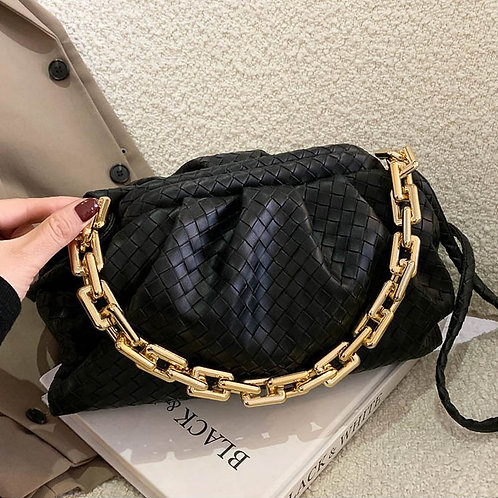Leather Fashion Chain Shoulder Trendy Crossbody Bags for Women 2020 New Purse