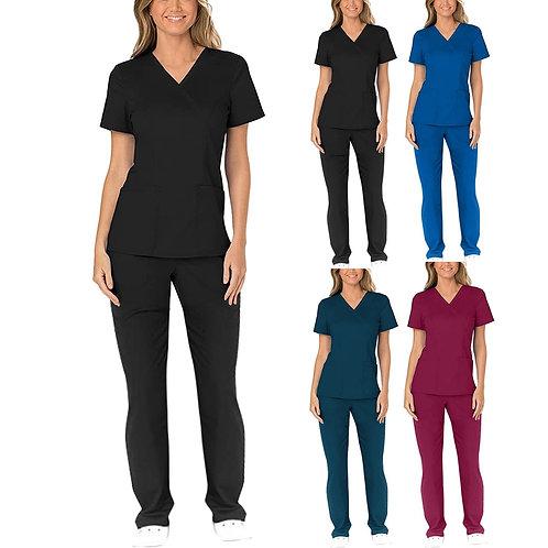 Anti-Greasy Nurses Uniform Set Healthcare