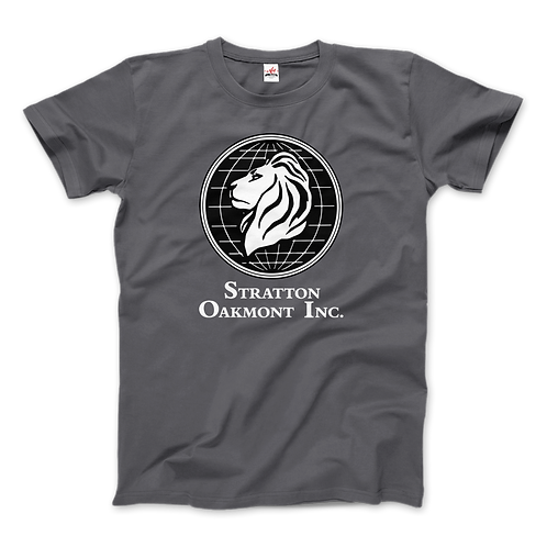 Wolf of Wallstreet T-Shirt Stratton Oakmont, Inc. Logo,