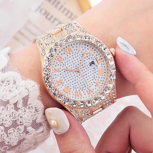 Fashion Women Watches Diamond Watch Ladies Top Luxury Brand Wristwatch Casual