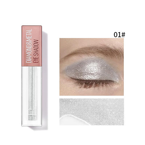 Pudaier Diamond Shimmer & Glow Liquid Eyeshadow | Matte Finished - Color #01