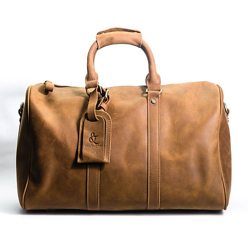 London Leather Duffle Bag