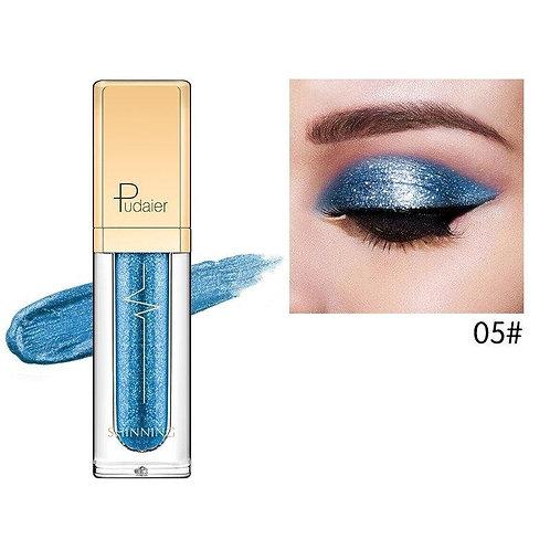 Pudaier Glitter & Glow Liquid Eyeshadow - Color # 05 Blue