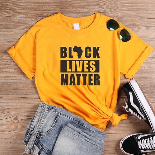 ONSEME Black Lives Matter Slogan T Shirt Balck Culture Tees Women Funny Africa