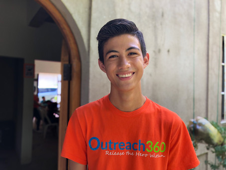 How a Local Volunteer Found His Way Through Outreach360