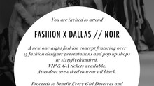 A night of Noir, courtesy of Fashion X Dallas