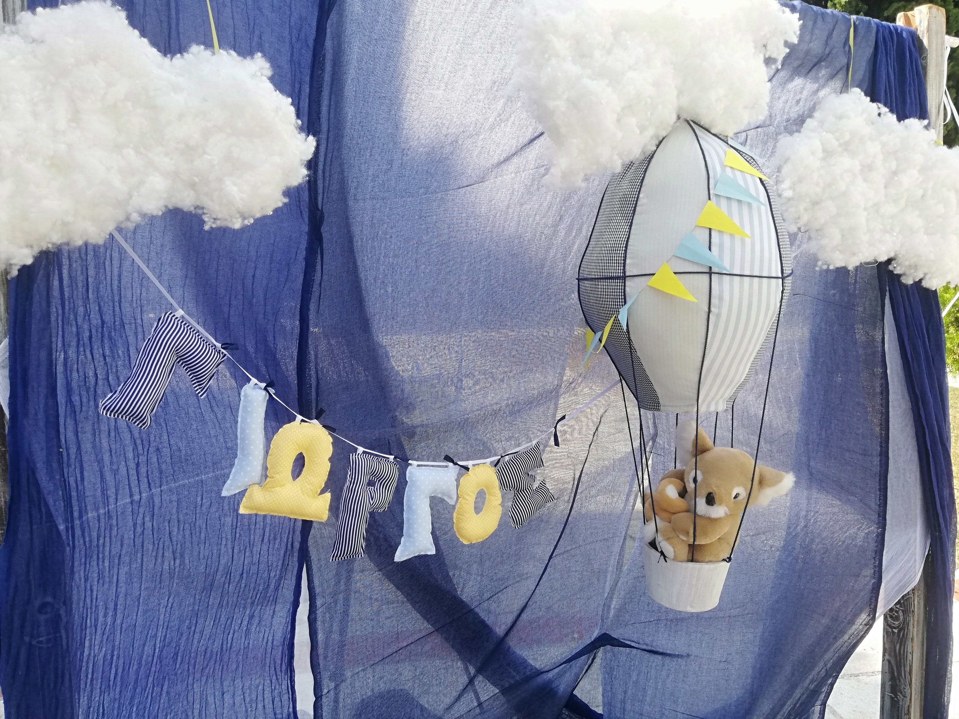 Αερόστατο θέμα στολισμού