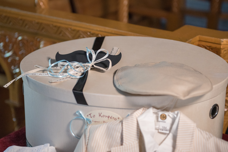 κουτί βάπτισης μουστάκι