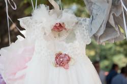Χειροποίητο βαφτιστικό φόρεμα