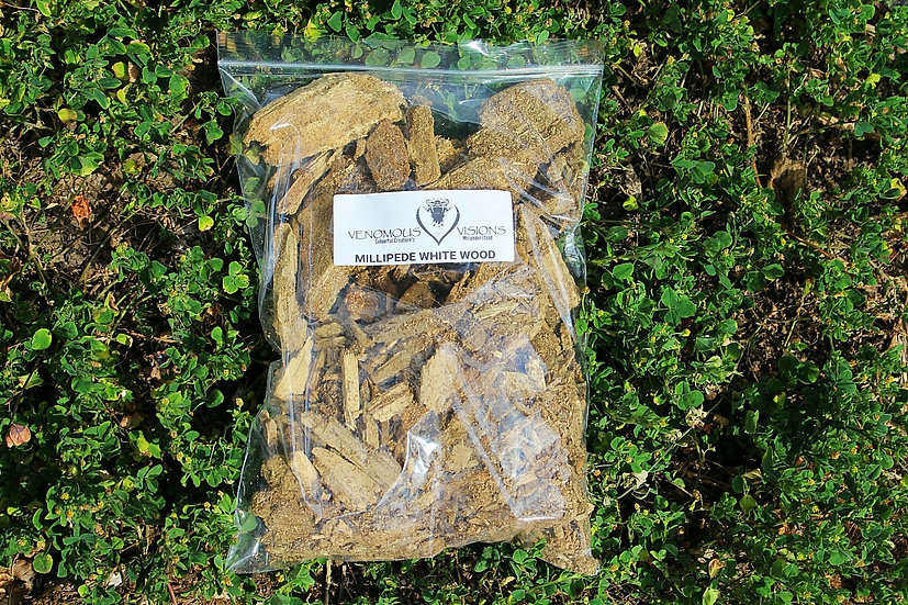 Rotten white wood for feeding insects and invertebrates for sale